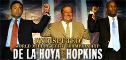 De La Hoya vs. Hopkings - 18 de Septiembre 2004