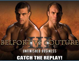 UFC 49: Couture vence a Belfort